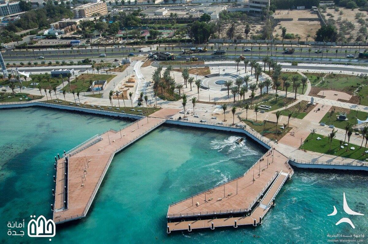 Pontoon – Development of Corniche and Waterfront at Phase 4 & 5, Jeddah