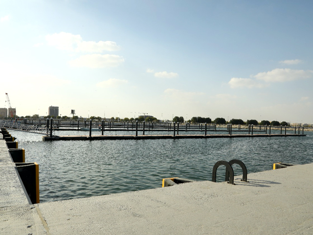 Floating Marine and QWF in Al Khobar Fishery Harbor